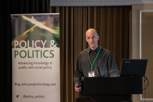 Mark Purcell giving his keynote at the conference last month