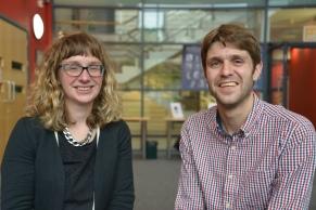 Huw Lewis & Elin Royles
